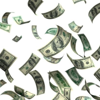 American One Hundred Dollar Bill「Isolated Money(XXL)」:スマホ壁紙(0)
