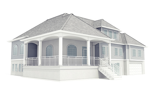 Villa「Isolated Model House」:スマホ壁紙(17)