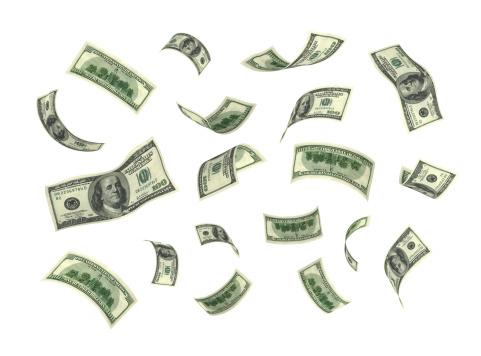 American One Hundred Dollar Bill「Isolated Money(XXL)」:スマホ壁紙(17)