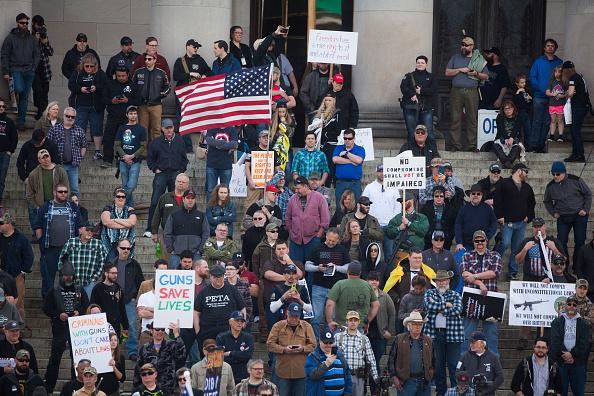 "Matt Mills McKnight「""March For Our Rights"" Pro Gun Rally Held At Washington State Capitol」:写真・画像(1)[壁紙.com]"