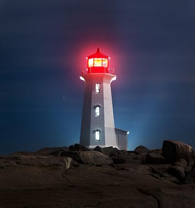 Beacon「Peggy's Cove Lighthouse」:スマホ壁紙(3)