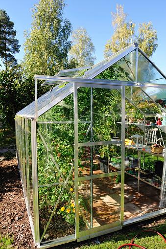 花壇「ガーデンの温室 9 月」:スマホ壁紙(17)