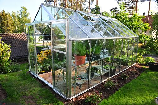 Greenhouse「Garden greenhouse」:スマホ壁紙(13)