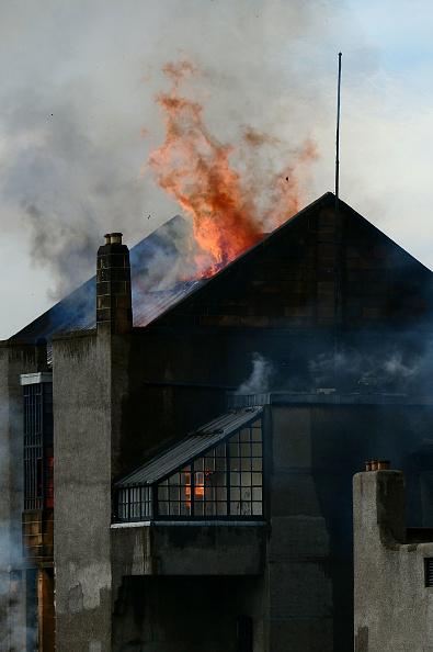 Glasgow - Scotland「Fire At Glasgow School of Art Charles Rennie Mackintosh Building」:写真・画像(18)[壁紙.com]