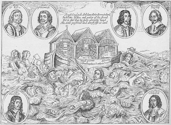 ヒューマンインタレスト「England's Miraculous Preservation', 1646 (1903)」:写真・画像(2)[壁紙.com]