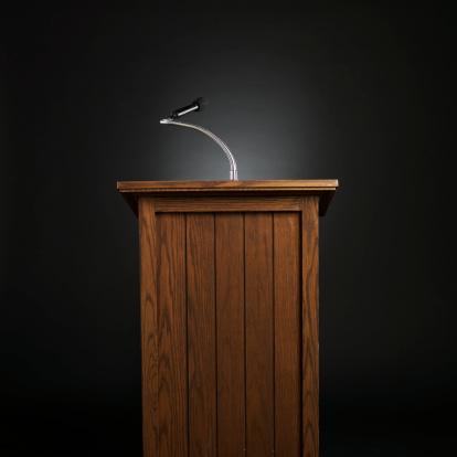 Speech「Podium for lecture」:スマホ壁紙(13)