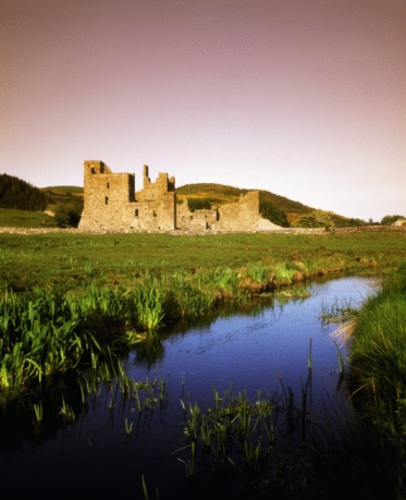 Abbey - Monastery「Co Westmeath, Fore Abbey, 13th Century, Benedictine Abbey, Ireland」:スマホ壁紙(2)