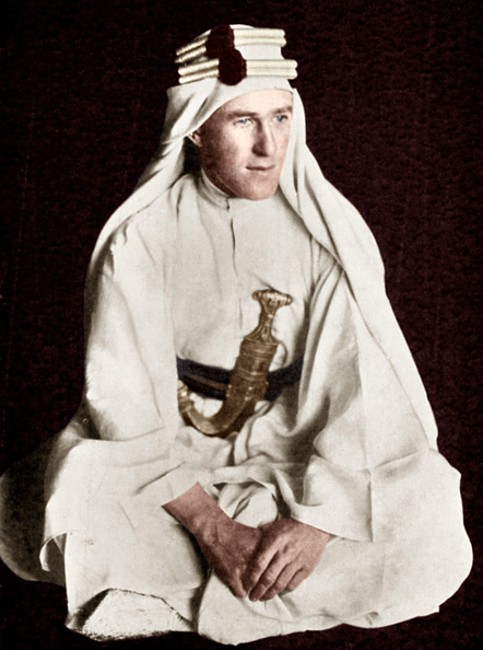 Arabia「Lawrence of Arabia, early 20th century.  Artist: Unknown.」:写真・画像(4)[壁紙.com]