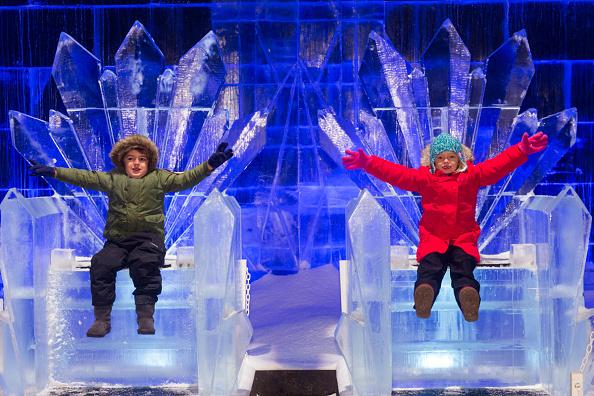 Ice Sculpture「The Magical Ice Kingdom At Hyde Park Winter Wonderland 2015」:写真・画像(4)[壁紙.com]
