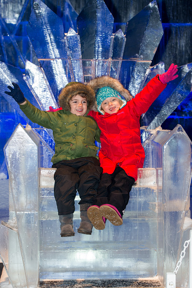 Ice Sculpture「The Magical Ice Kingdom At Hyde Park Winter Wonderland 2015」:写真・画像(2)[壁紙.com]