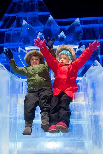 Ice Sculpture「The Magical Ice Kingdom At Hyde Park Winter Wonderland 2015」:写真・画像(2)[壁紙.com]