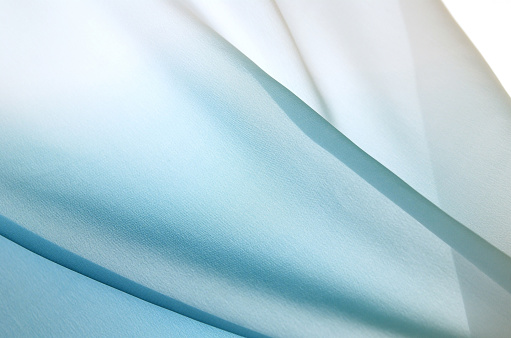 Back Lit「Graduated silk from blue to white」:スマホ壁紙(13)
