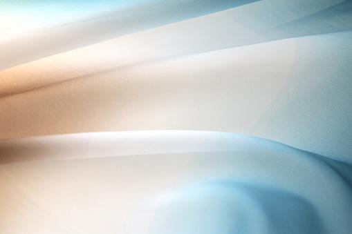 Softness「Graduated silk from brown to blue」:スマホ壁紙(13)