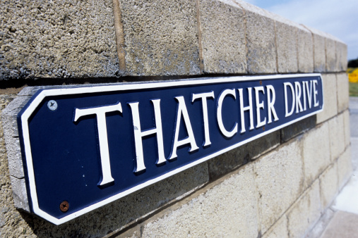 Port Stanley - Falkland Islands「Thatcher Drive sign.」:スマホ壁紙(9)