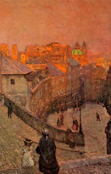 City Life「Prague: Neruda Street ('Nerudova ulice')」:写真・画像(6)[壁紙.com]
