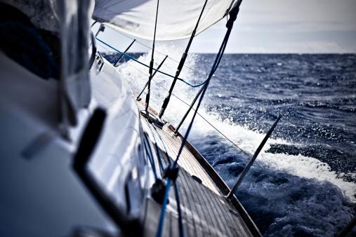 Adriatic Sea「Sailing with sailboat」:スマホ壁紙(15)