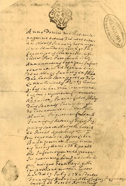 Document「Napoleons Birth Certificate」:写真・画像(12)[壁紙.com]