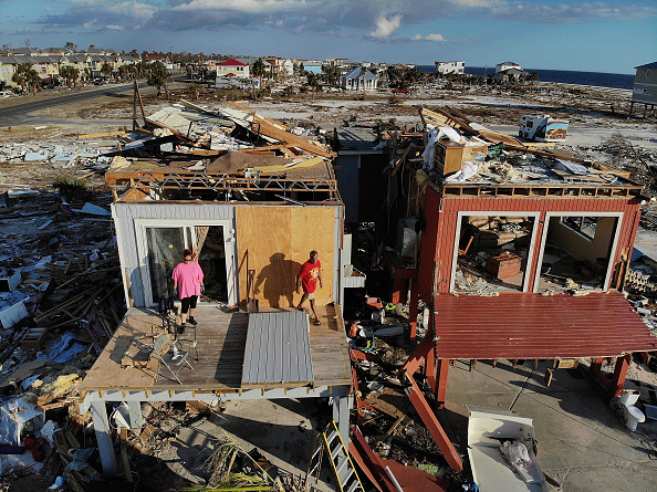 Damaged「Recovery Efforts Continue In Hurricane-Ravaged Florida Panhandle」:写真・画像(11)[壁紙.com]