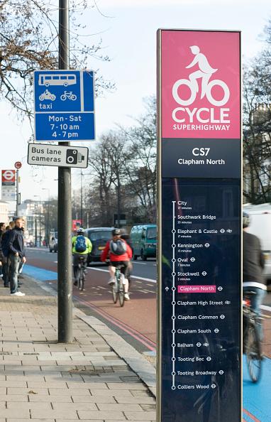 Road Marking「Supercycle highway, London, UK」:写真・画像(3)[壁紙.com]