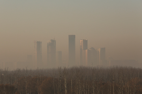 Air Pollution「Beijing Is Enveloped In Smog」:写真・画像(12)[壁紙.com]