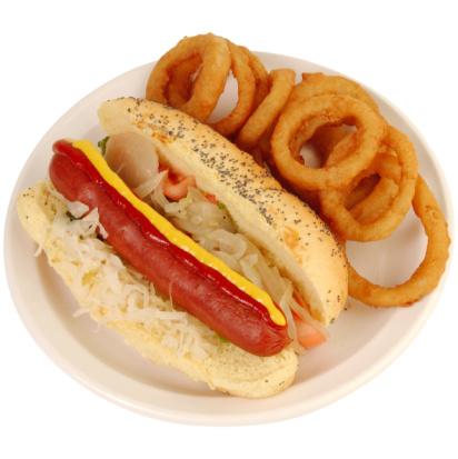 Deep Fried「Hotdog And Onion Rings」:スマホ壁紙(15)