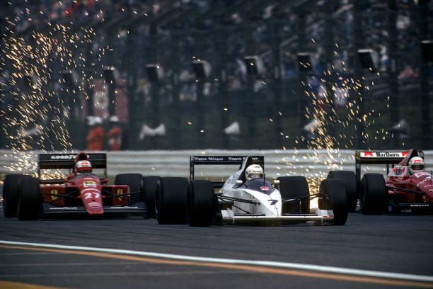 ナイジェル・マンセル「Martin Brundle, Nigel Mansell, Andrea de Cesaris, Grand Prix Of Japan」:写真・画像(18)[壁紙.com]