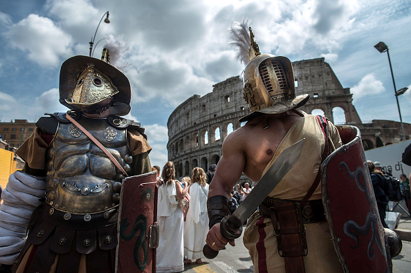 Cultures「The People Of Rome Hold Their Annual Celebrations On The Anniversary Of Its Founding」:写真・画像(1)[壁紙.com]