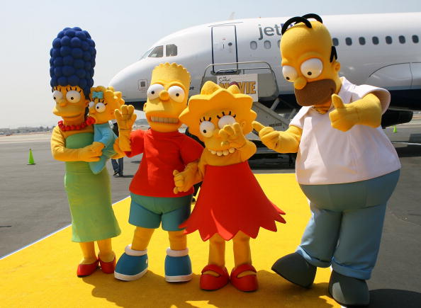"Cartoon「Jet Blue Unveils Aircraft In Celebration Of ""The Simpsons"" Movie Release」:写真・画像(2)[壁紙.com]"