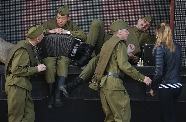 70th Anniversary「Moscow Prepares For WW2 Victory 70th Anniversary Celebration」:写真・画像(8)[壁紙.com]