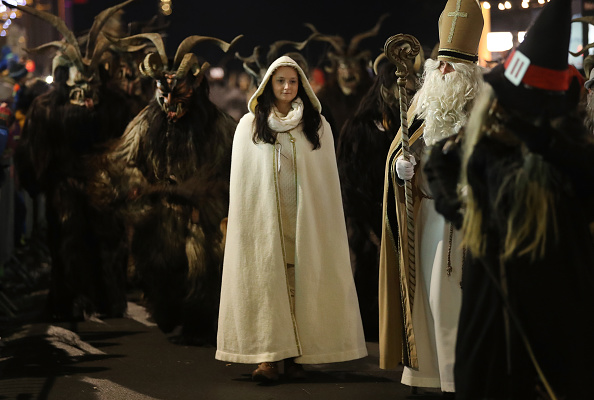 Tradition「Krampus Creatures Parade On Saint Nicholas Day」:写真・画像(1)[壁紙.com]