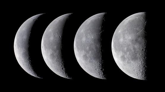 Solar System「Waning moon series」:スマホ壁紙(10)