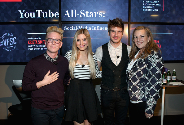 "Influencer「Vanity Fair Campaign Hollywood Social Club - ""YouTube All Stars:"" Social Media Influencers Panel Discussion」:写真・画像(4)[壁紙.com]"