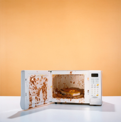 Microwave「Exploded Meal in Microwave」:スマホ壁紙(16)
