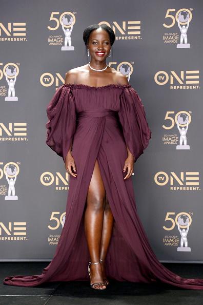 出席する「50th NAACP Image Awards - Press Room」:写真・画像(18)[壁紙.com]