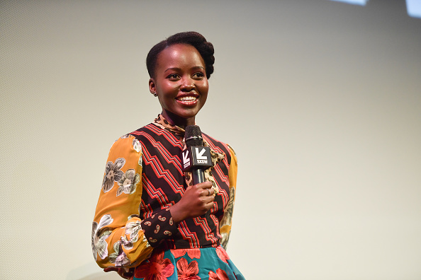 "Lupita Nyong'o「""Little Monsters"" Premiere - 2019 SXSW Conference and Festivals」:写真・画像(8)[壁紙.com]"