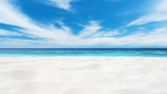 Beach「Beach Sand Copy Space Scene」:スマホ壁紙(6)