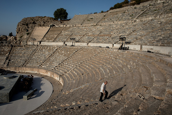 Adult「Turkey's Ephesus Continues To Draw Visitors As Tourism Industry Recovers」:写真・画像(14)[壁紙.com]