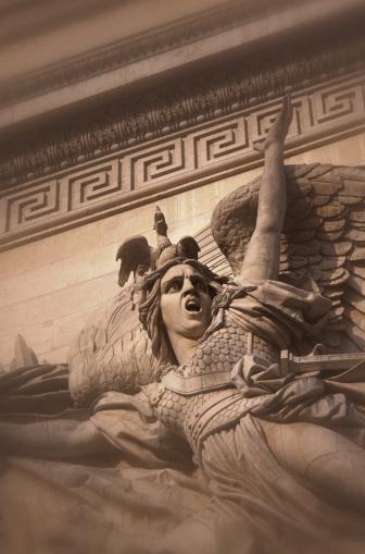 Arc de Triomphe - Paris「Arc de Triomphe Detail」:スマホ壁紙(7)