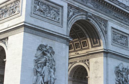 Arc de Triomphe - Paris「Arc de Triomphe detail」:スマホ壁紙(0)