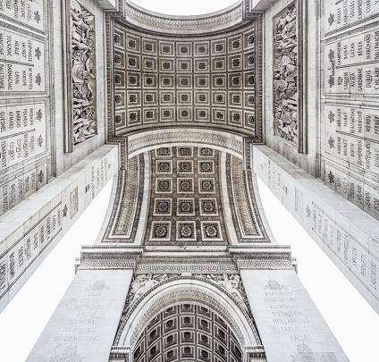 Arc de Triomphe - Paris「Arc de Triomphe, detail」:スマホ壁紙(10)