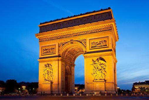 Arc de Triomphe - Paris「Arc de Triomphe」:スマホ壁紙(0)