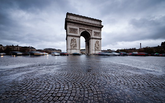Arc de Triomphe - Paris「Arc de Triomphe」:スマホ壁紙(0)