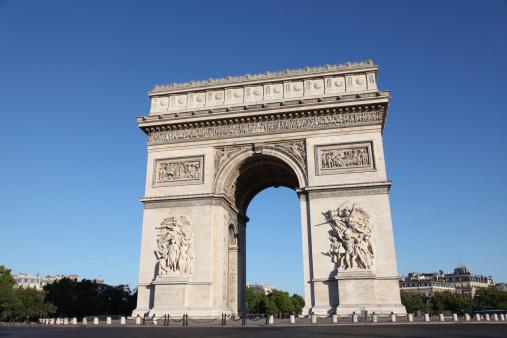 Arc de Triomphe - Paris「Arc de Triomphe」:スマホ壁紙(12)