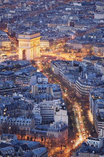 Arc de Triomphe - Paris「Arc de Triomphe」:スマホ壁紙(7)