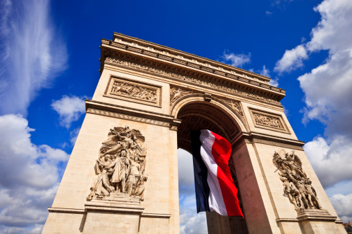 Arc de Triomphe - Paris「Arc de Triomphe」:スマホ壁紙(18)
