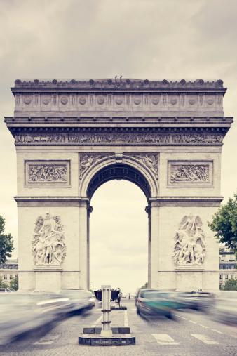 Arc de Triomphe - Paris「Arc de Triomphe」:スマホ壁紙(17)
