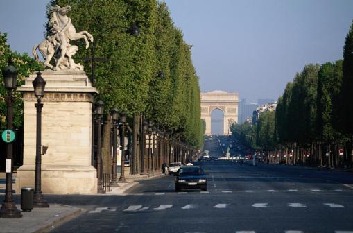Arc de Triomphe - Paris「Arc de Triomphe」:スマホ壁紙(3)