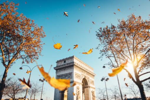 Arc de Triomphe - Paris「Arc De Triomphe In Paris」:スマホ壁紙(2)