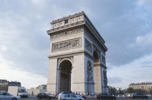 Arc de Triomphe - Paris「Arc de Triomphe, Paris, France」:スマホ壁紙(8)