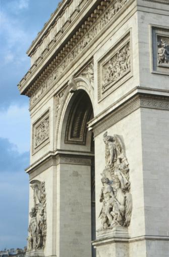 Arc de Triomphe - Paris「Arc de Triomphe, Paris, France」:スマホ壁紙(10)